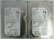 LOT of 2 Seagate ST380815AS 9CY131-033 80GB 7200RPM SATA 3Gbps 8MB 3.5 inch 11-3