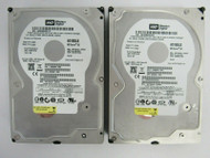 """LOT OF 2 Western Digital WD1600JS WD1600JS-22NCB1 160GB 3.5"""" 7.2K SATA HDD 28-2"""