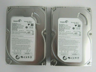 "LOT OF 2 Seagate ST3160813AS 9FZ181-302 160GB 3.5"" 7.2K RPM 8MB SATA HDD 38-4"