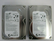 "LOT OF 2 Seagate ST3160318AS 9SL13A-302 160GB 7.2K RPM 3.5"" SATA HDD 44-3"