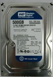 WD WD50000AAKX-001CA0 500GB SATA 7200RPM HDD 40-3