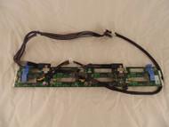 Dell 0RVVMP RVVMP Poweredge R720 8x Bay Hard Drive Backplane w/Cables B-6