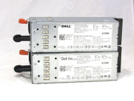 LOT of 2 Dell Power supply 570W 0RXCPH C570A-S0 for Dell Poweredge R710 T610 8-3