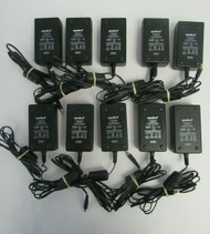 LOT OF 10 Symbol PW118 50-14000-107 Rev. A ITE Power Supply AC Adapter 53-4