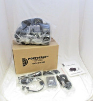 PORTaTalk Portable PA System Battery Powered Speaker w// Mic and Headset  16-1