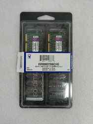KVR800D2S6K2/4G Kingston 4GB Kit (2 X 2GB) PC2-6400 DDR2-800MHz A3