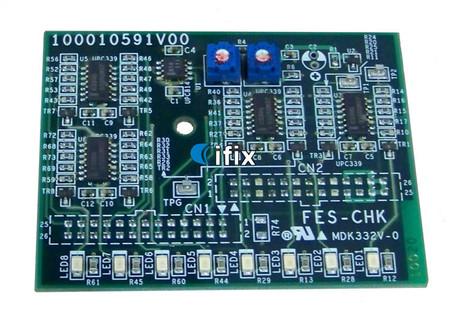Fuji Javelin HS CTP FES-CHK Board (Part #S100010591V00)