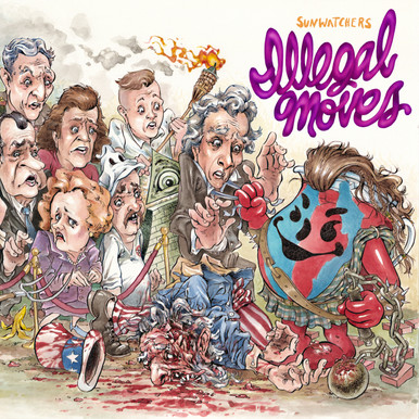 """""""Illegal Moves"""" front cover art"""