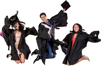 Swinburne University of Technology graduation gowns - purchase instead of hire