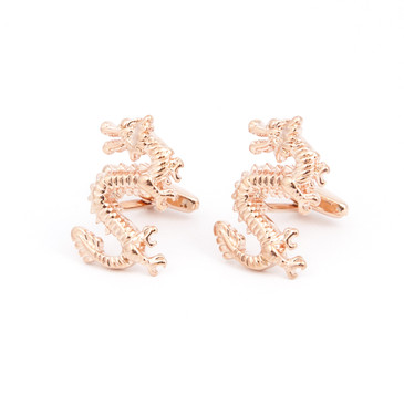 Chinese Dragon Cufflinks - main view - University graduation gift