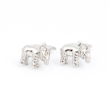 Elephant Cufflinks - main view - University graduation gift