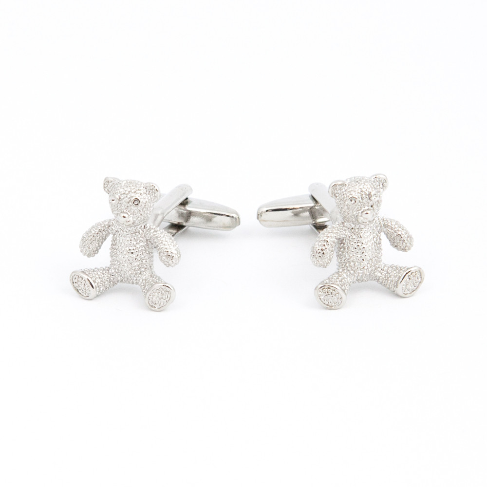 Teddy Bear Cufflinks - alternative view - University graduation gift