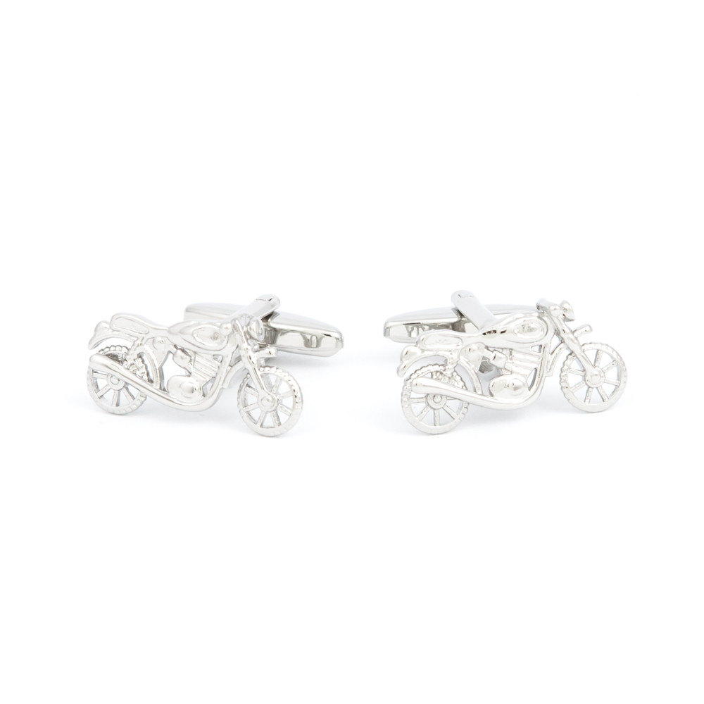 Motorbike Cufflinks - alternative view - University graduation gift