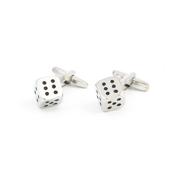 Lucky Dice Cufflinks - main view - University graduation gift