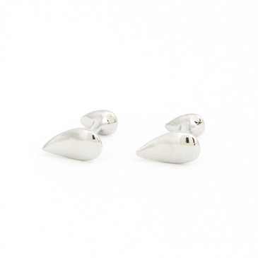 Teardrop Cufflinks - main view - University graduation gift