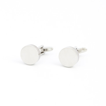Classic Round Cufflinks - main view - University graduation gift