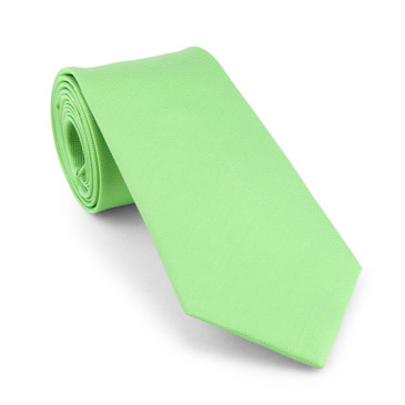 Classic Green Necktie - main view - University graduation gift
