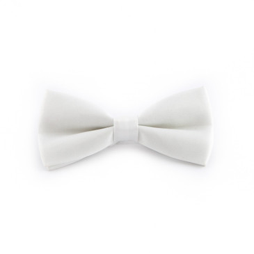 Classic White Bowtie - main view - University graduation gift