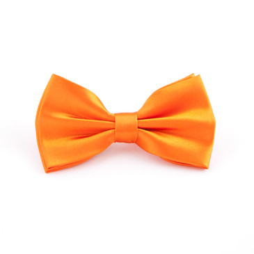 Classic Orange Bowtie - main view - University graduation gift