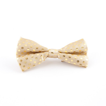 Gold Dots Bowtie - main view - University graduation gift