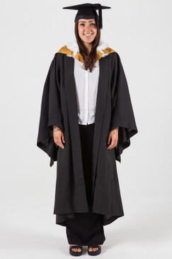 Bachelor Graduation Gown Set for UNSW - Arts and Social Sciences - Front view