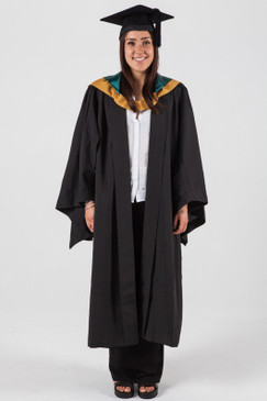 Bachelor Graduation Gown Set for UNSW - Built Environment - Front view