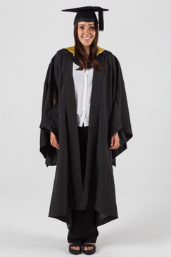 Bachelor Graduation Gown Set for UNSW - Art and Design - Front view