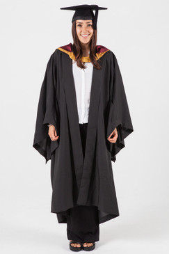 Bachelor Graduation Gown Set for UNSW - Engineering - Front view