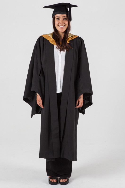 Bachelor Graduation Gown Set For Unsw Science Gowntown