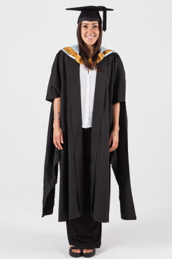 Masters Graduation Gown Set for UNSW - Arts and Social Sciences - Front view