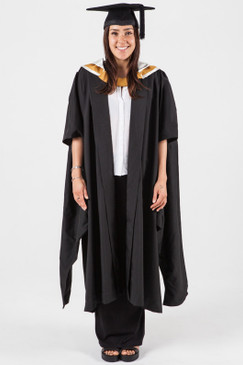 Masters Graduation Gown Set for UNSW - Business - Front view