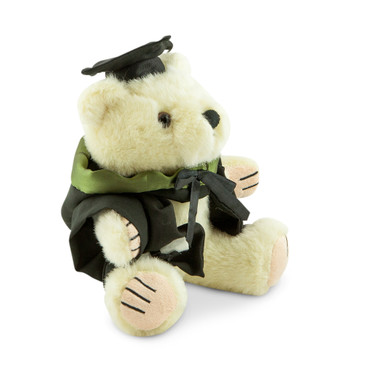 University of Melbourne Bachelor Bear - Health Sciences; pictured in small size and with matching hood