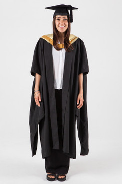 Masters Graduation Gown Set for UNSW - Science - Front view