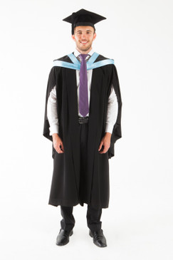 University of Tasmania Bachelor Graduation Gown Set - Education - Front view