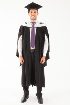 University of Tasmania Bachelor Graduation Gown Set - Science, Computing and Psychology - Front view