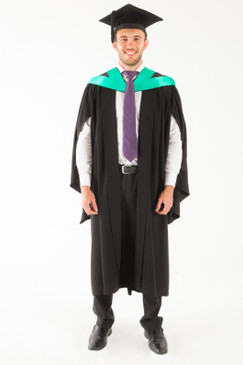 University of Tasmania Bachelor Graduation Gown Set - Nursing - Front view