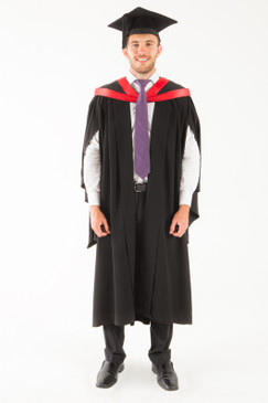 University of Tasmania Bachelor Graduation Gown Set - Law - Front view