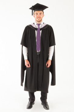 University of Tasmania Masters Graduation Gown Set - Medicine and Surgery - Front view