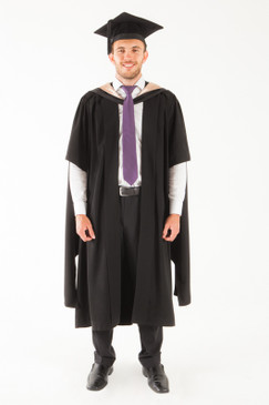 University of Tasmania Masters Graduation Gown Set - Fine and Visual Arts - Front view