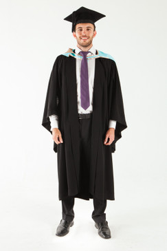 Monash University Bachelor Graduation Gown Set - Education - Front view