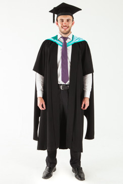 Monash University Masters Graduation Gown Set - Business and Economics - Front view
