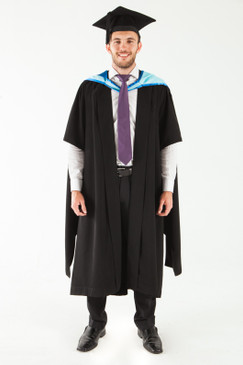 Monash University Masters Graduation Gown Set - Medicine, Nursing and Health Sciences - Front view