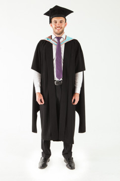 Monash University Masters Graduation Gown Set - Engineering - Front view