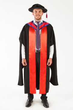 CSU Doctor Graduation Gown Set - PhD - Front view