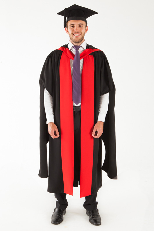 University of Sydney Doctor Graduation Gown Set - PhD - Front view
