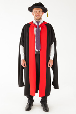 University of Adelaide Doctor Graduation Gown Set - PhD - Front view