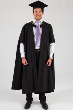 University of Melbourne Masters Graduation Gown Set - Science - Front view