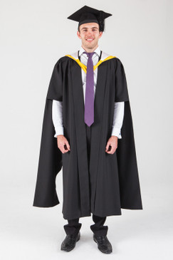 Macquarie University Masters Graduation Gown Set - Arts - Front view
