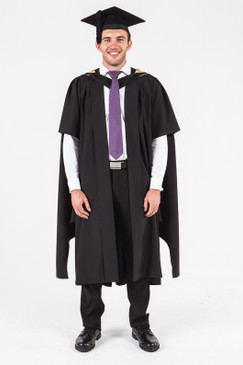 UON Masters Graduation Gown Set - Natural and Physical Sciences - Front view