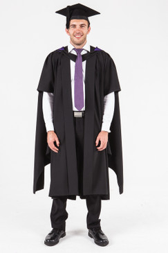 UON Masters Graduation Gown Set - Information Technology - Front view